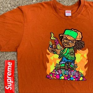 Supreme Molotov Kid Red T-shirt